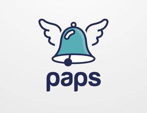 Le logo de Paps