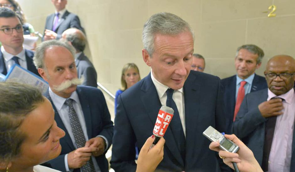 Bruno Le Maire intervention publique, taxe GAFA