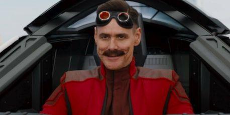 Jim Carrey dans le rôle de Robotnik