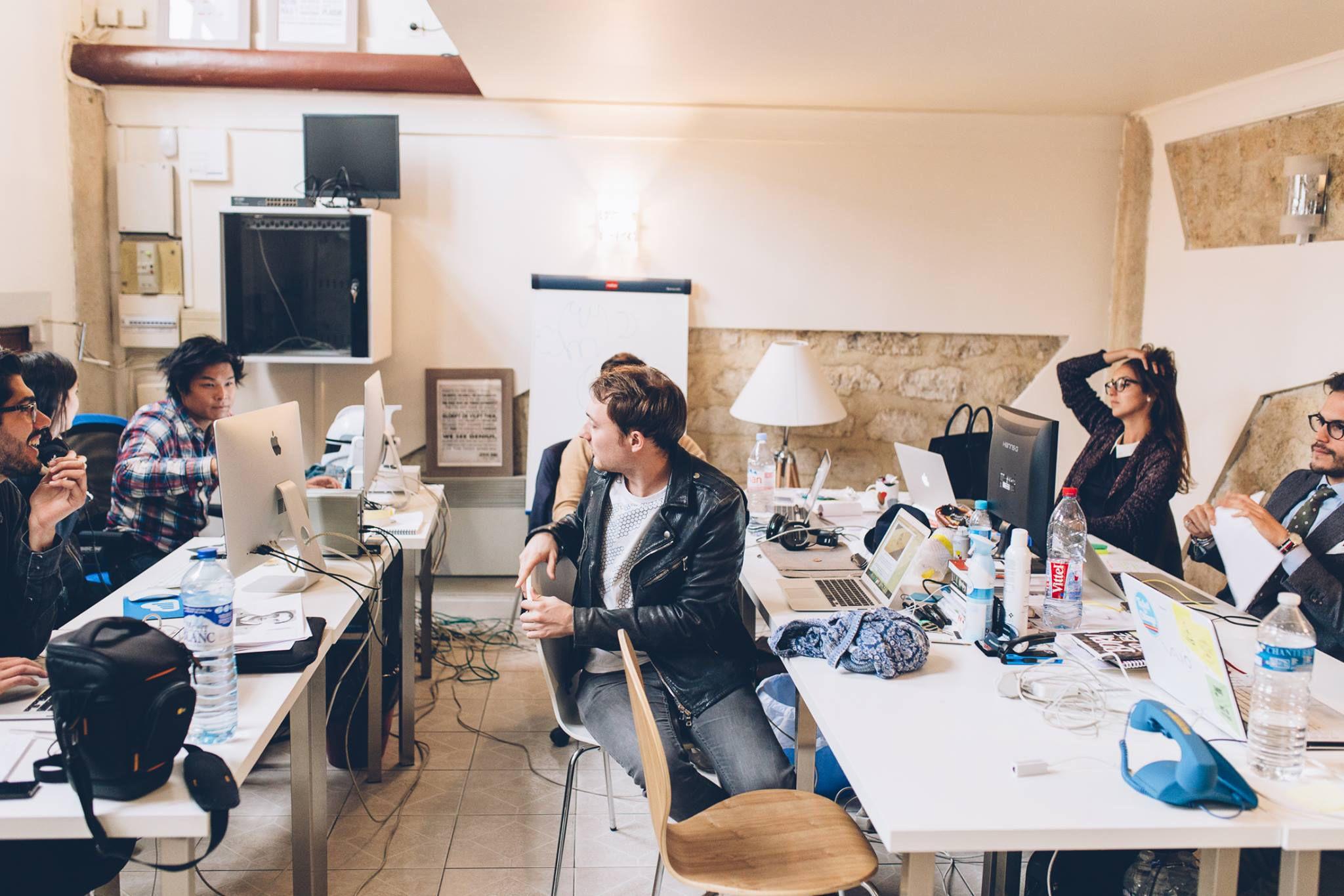 Les locaux de la startup bonnegueule