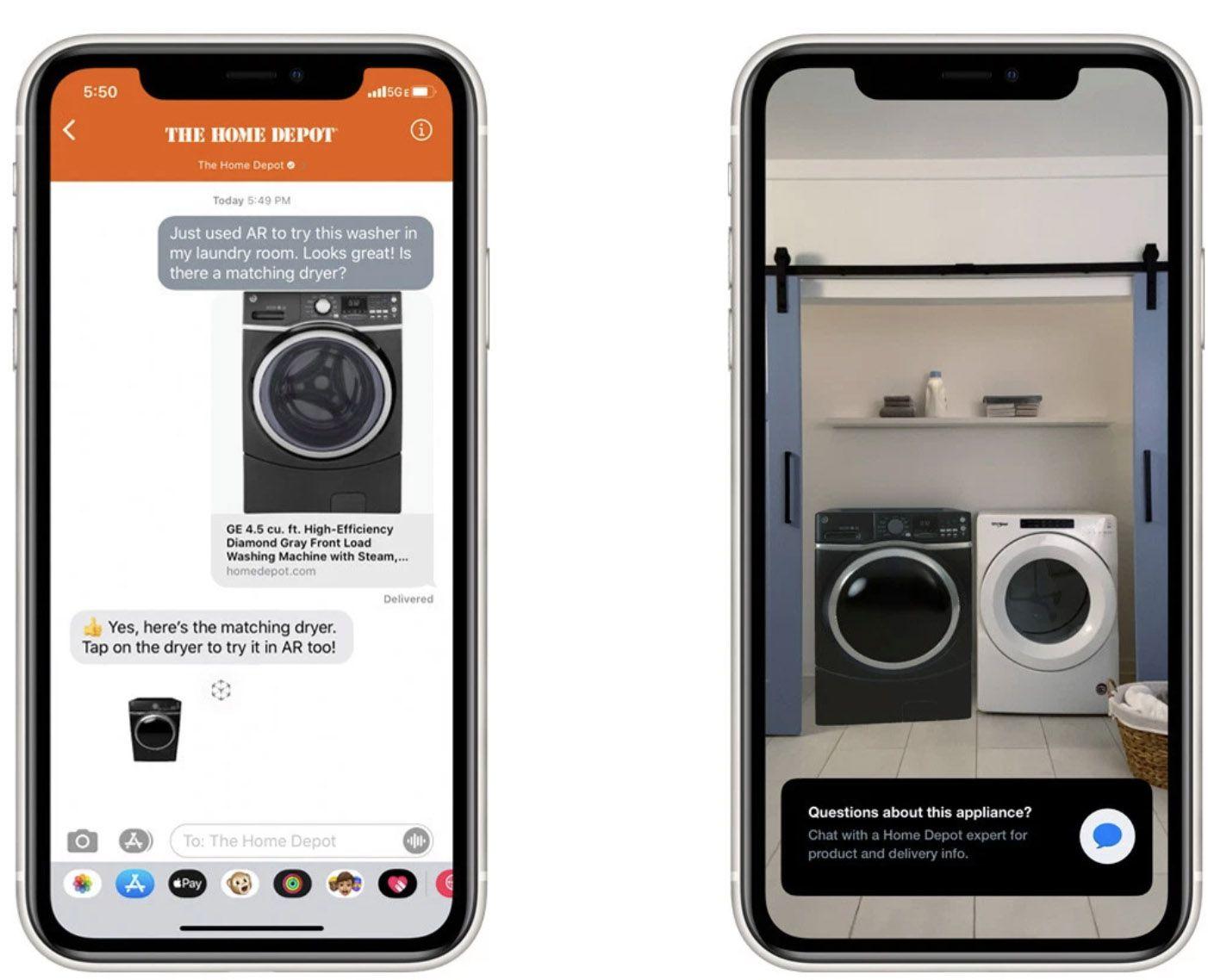 """Le bouton personnalisé de la fonctionnalité """"Quick Look"""" d'Apple"""
