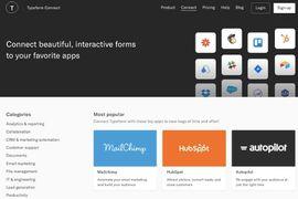typeform integration avec les logiciels