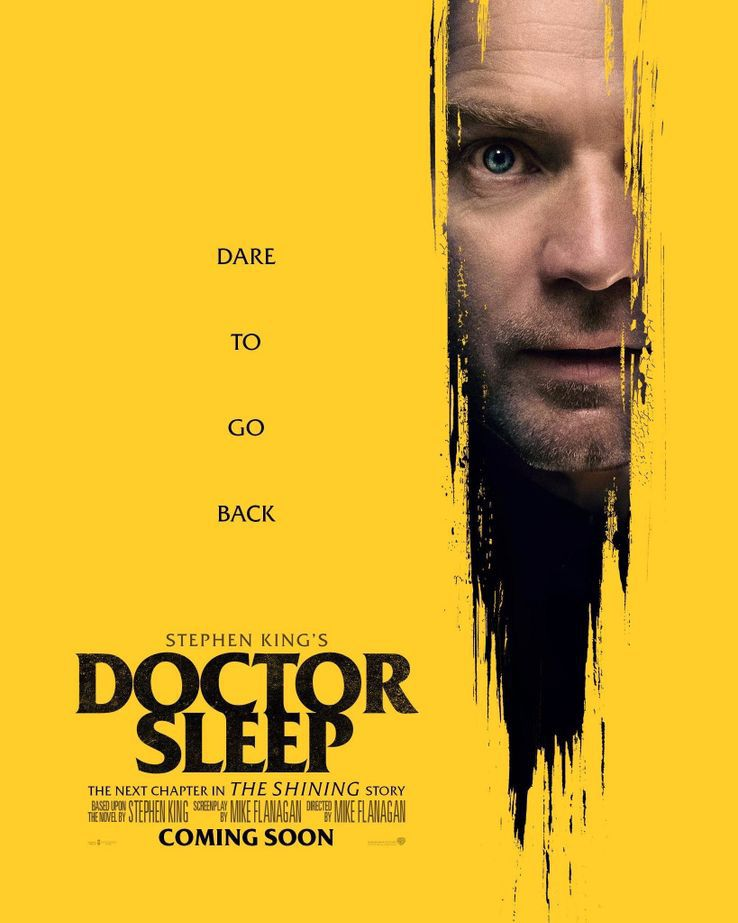 docteur sleep affiche de la suite de the shining avec danny
