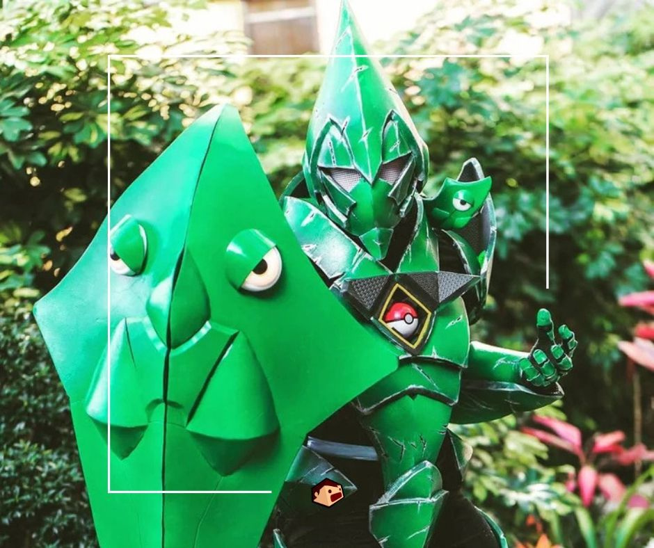 cosplay chrysacier pokémon