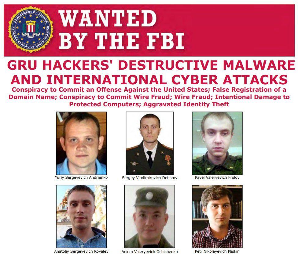 pirates russe recherché par le FBI