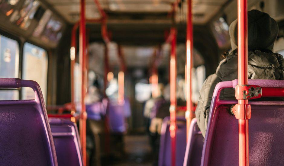 vue dans un bus