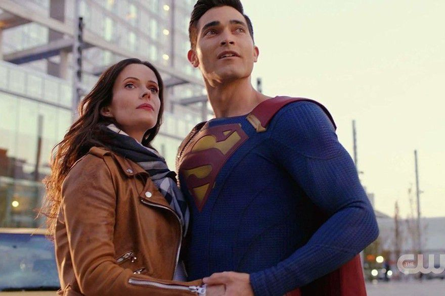 the cw superman lois lane serie