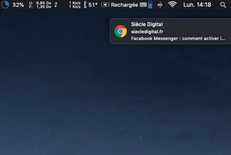 Comment désactiver les notifications sur Google Chrome