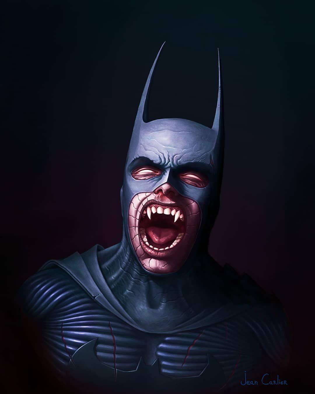 batman zombie