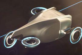 Les pneus Aero de Goodyear destinés aux voitures volantes
