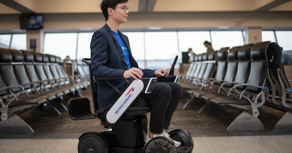 British Airways teste des fauteuils roulants autonomes