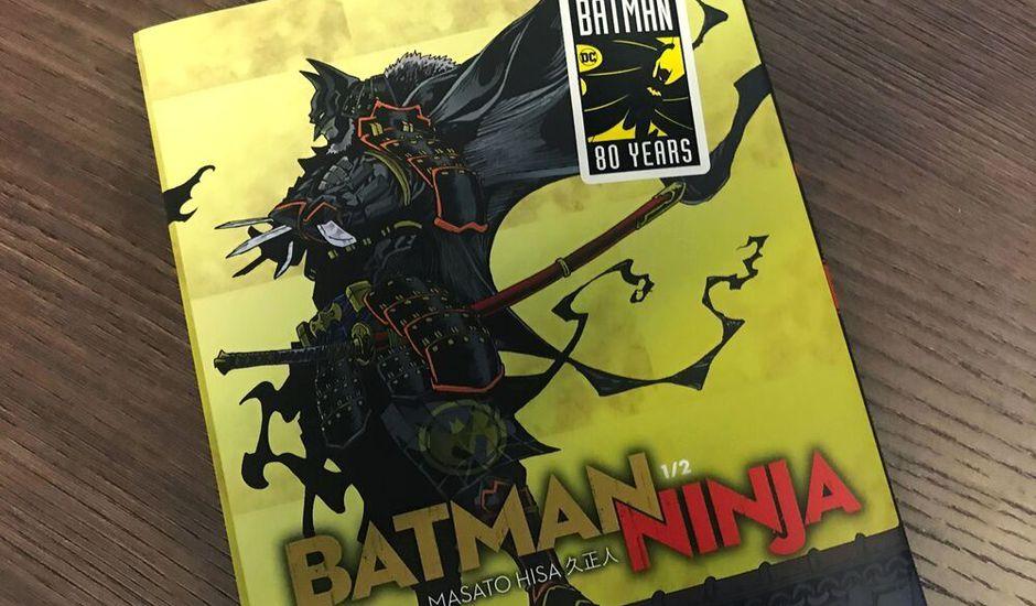 batman ninja couverture manga