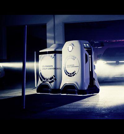 Le groupe Volkswagen développe un robot qui sera une station de recharge mobile pour les particuliers et les professionnels.