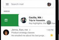 aperçu personnalisation du balayage Gmail