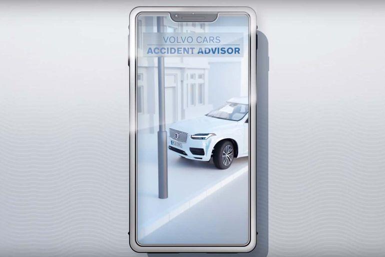 Application Car Accident Advisor par Volvo
