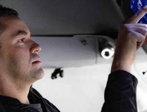 Un touriste à bord de l'ISS.